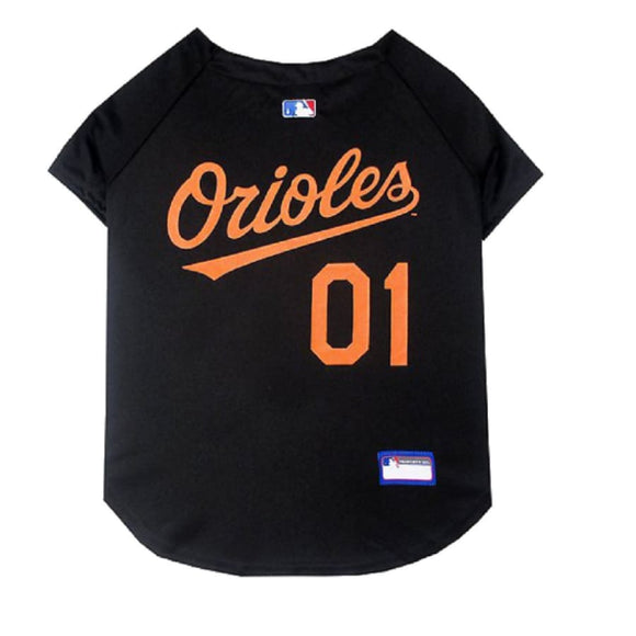 Baltimore Orioles Pet Jersey Extra Small / Blank Mlb