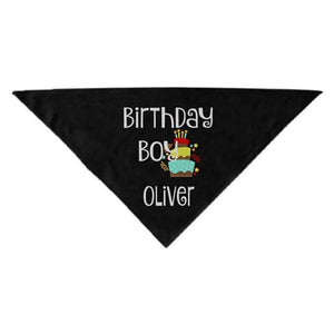 Birthday Boy/girl Personalized Bandana Pet Accessories