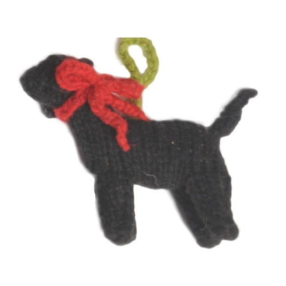 Black Labrador Handmade Ornament Holiday