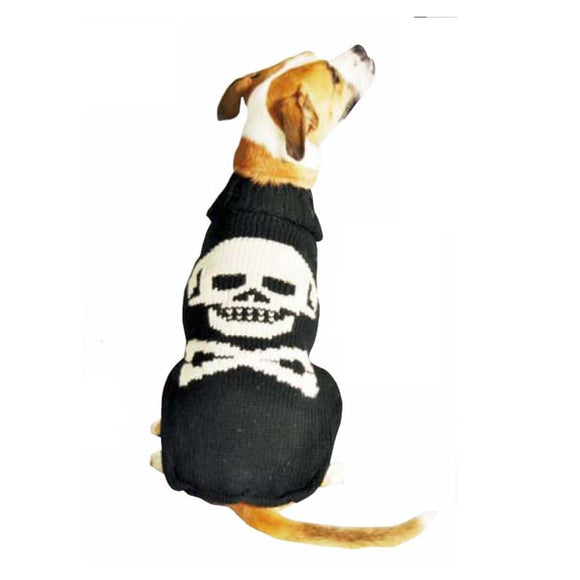 Black Skull Sweater Clothing & Accessories