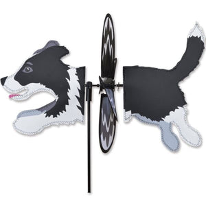 Border Collie Petite Garden Spinner Home Life