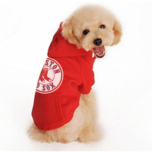 Boston Red Sox Handmade Pet Hoodies Mlb