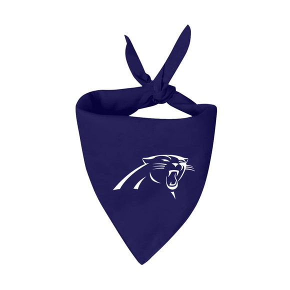 Carolina Panthers Handmade Bandana Nfl