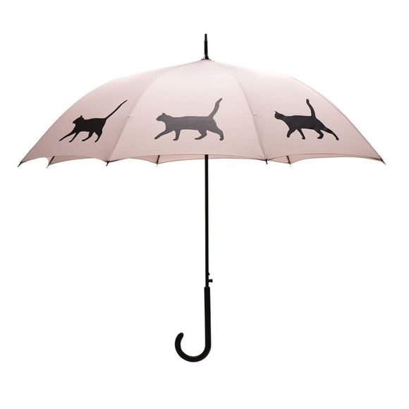 Cat Black On Tan Classic Umbrella