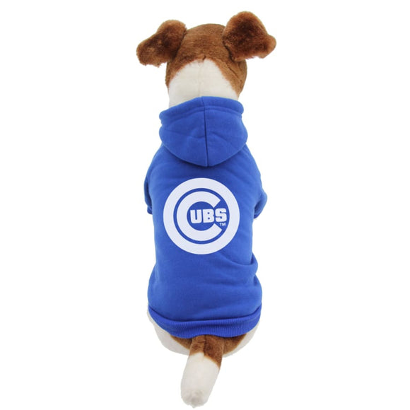 Chicago Cubs Handmade Pet Hoodies Mlb