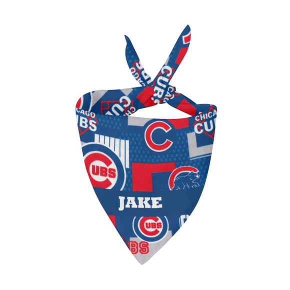 Chicago Cubs Premium Bandana Pet