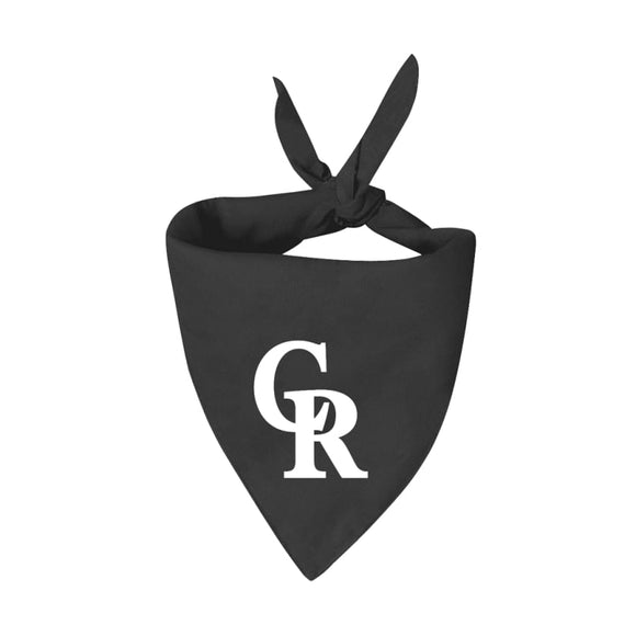 Co Rockies Handmade Bandana Mlb
