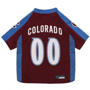 Colorado Avalanche Officially Pet Jersey Nhl