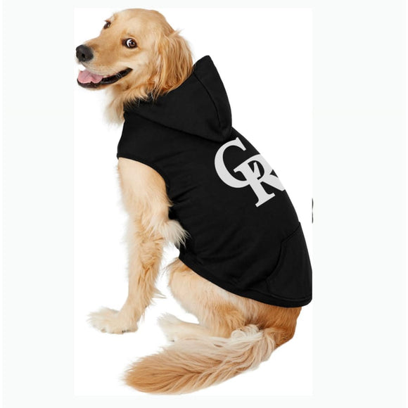 Colorado Rockies Handmade Pet Hoodies Mlb