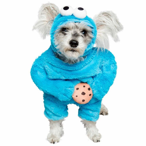 Cookie Monster Licensed Pet Costume Costumes