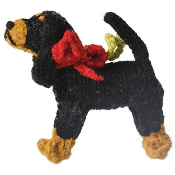 Coonhound Handmade Ornament Holiday