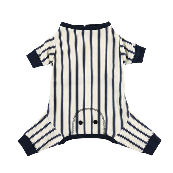 Cozy Pet Pajamas X-Small / Black Striped Blank - None