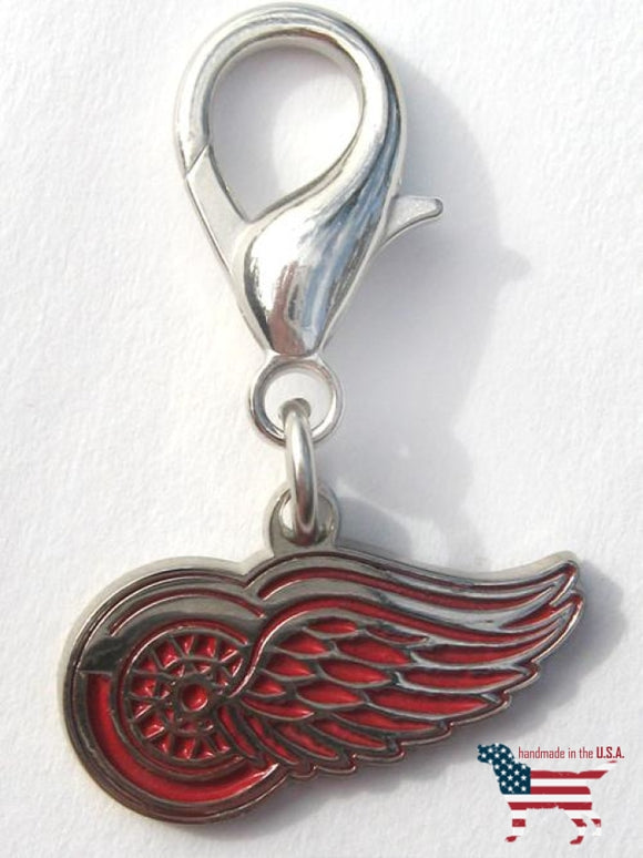 Detroit Red Wings Collar Charm Nhl