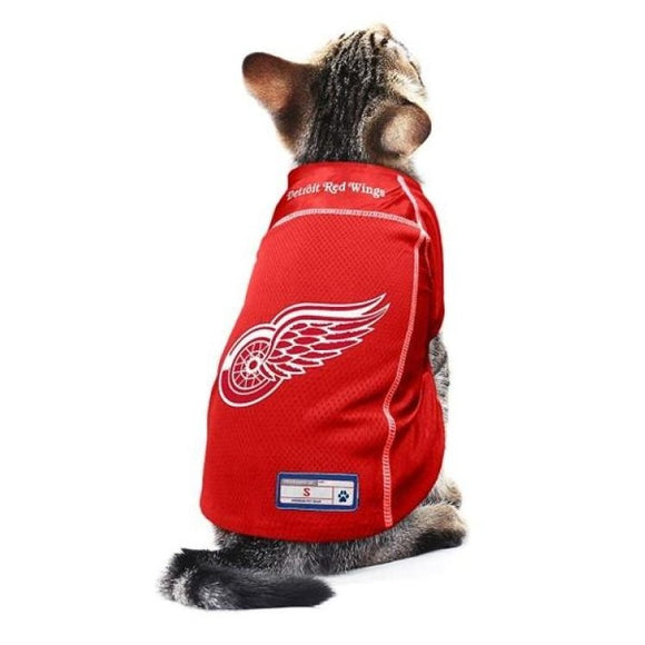 Detroit Red Wings Pet Jersey Nhl
