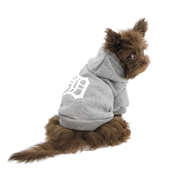 Detroit Tigers Handmade Pet Hoodies Mlb