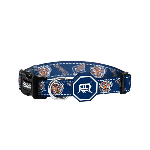 Detroit Tigers MLB Licensed Dog Cat Collar