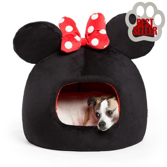 Disney Minnie Mouse Pet Dome Home Life