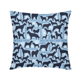 Dog Bff Throw Pillow Case 18 Home Life