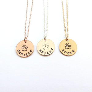 Dog Mom Necklace Pet Memorial Jewelry Necklaces