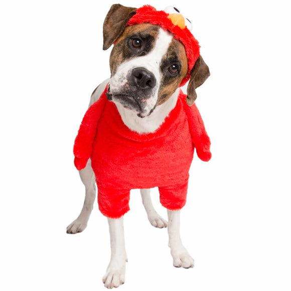 Elmo Licensed Pet Costume Costumes