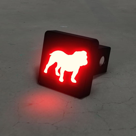 English Bulldog Hitch Cover Brake Light Automotive