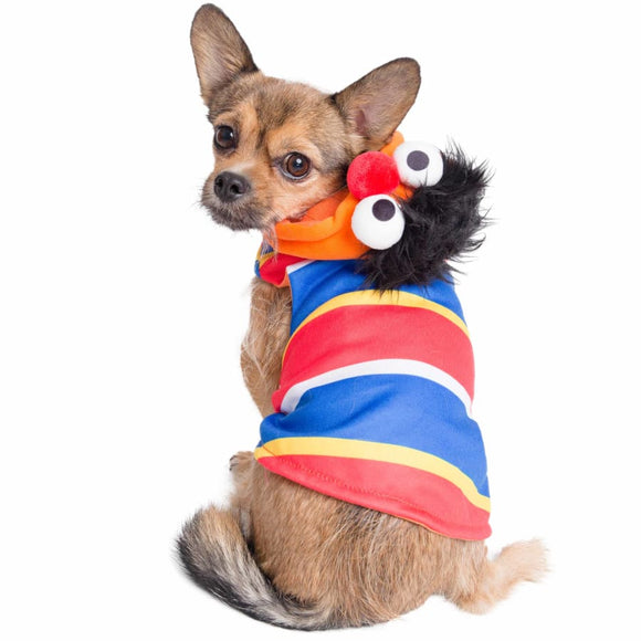 Ernie Licensed Pet Costume Hoodie Costumes