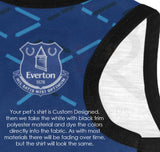 Everton Fc Printed Custom Player Tee Premier League