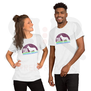 German Shepherd Life Unisex Tee Soft Cream / S Clothing & Accessories