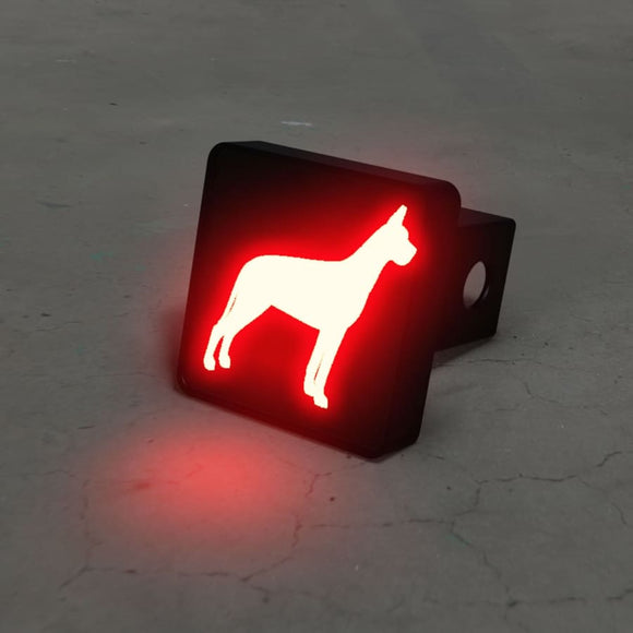 Great Dane Hitch Cover Brake Light Automotive