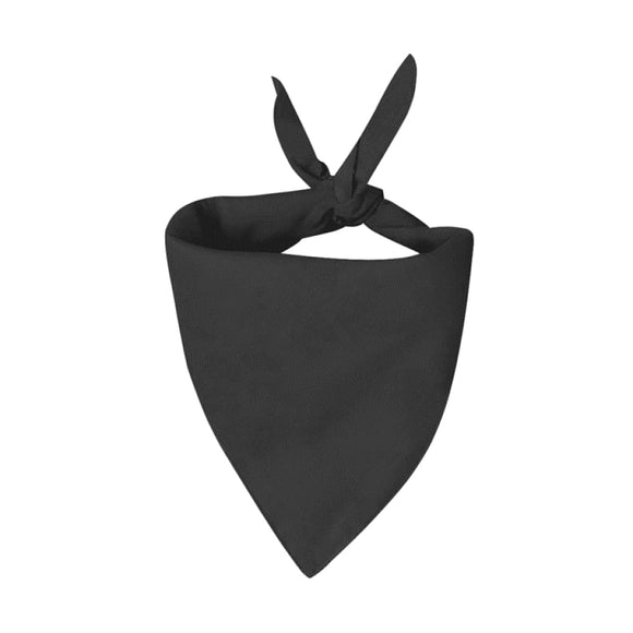 Handmade Custom Pet Bandanas Black Bandana