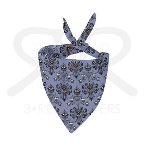 Haunted Mansion Mask And Pet Bandana Xlg Face