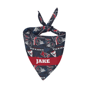 Houston Texans Premium Bandana Pet