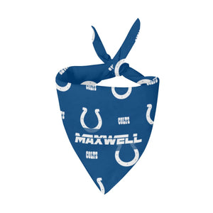 Indianapolis Colts Premium Bandana Pet