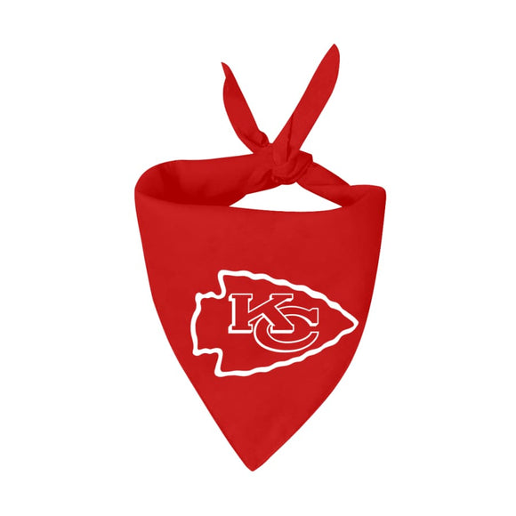 Kansas City Chiefs Handmade Bandana Nfl
