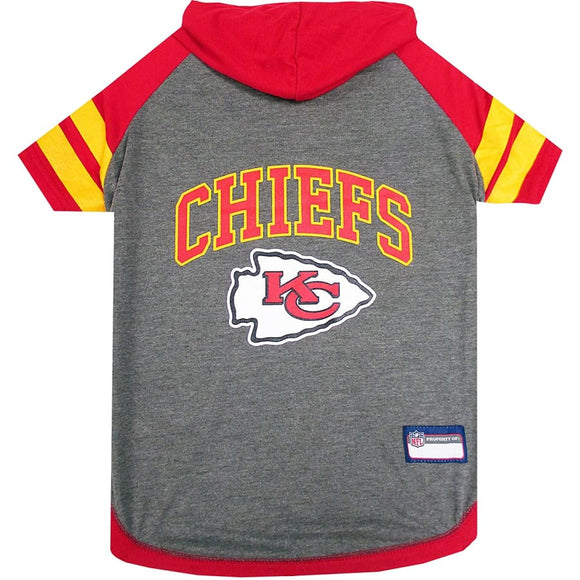 Kansas City Chiefs Lightweight Pet Hoodie Nfl
