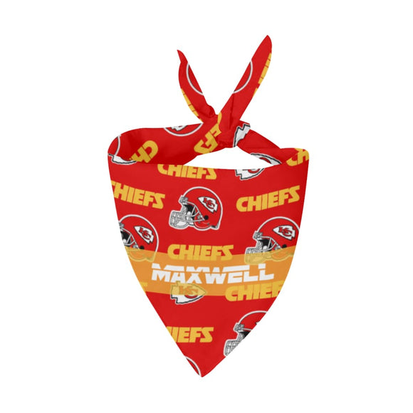 Kansas City Chiefs Premium Bandana Pet