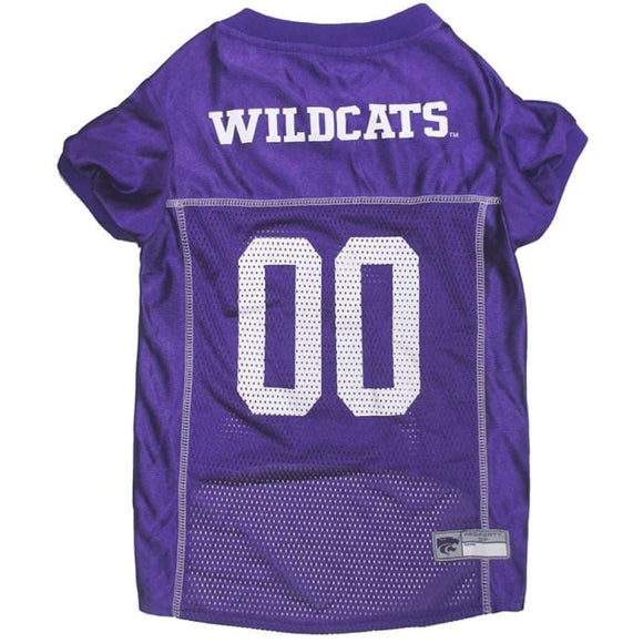 Ks State Wildcats Pet Jersey Extra Small / Blank Ncaa