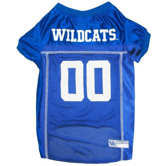 Ky Wildcats Pet Jersey Extra Small / Blank Ncaa