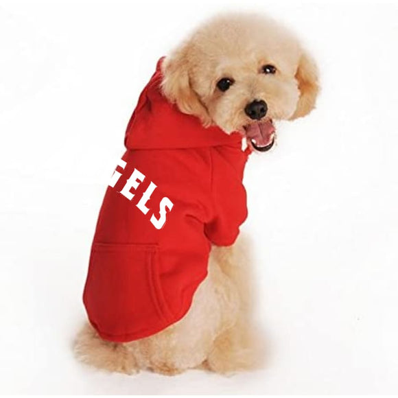La Angels Handmade Pet Hoodies Mlb
