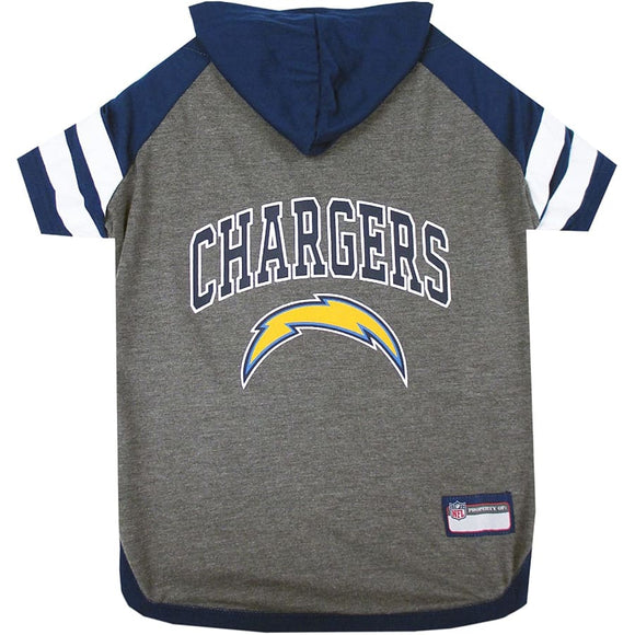 Los Angeles Chargers Lightweight Pet Hoodie Nfl