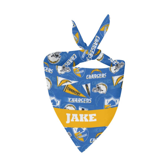 Los Angeles Chargers Premium Bandana Pet