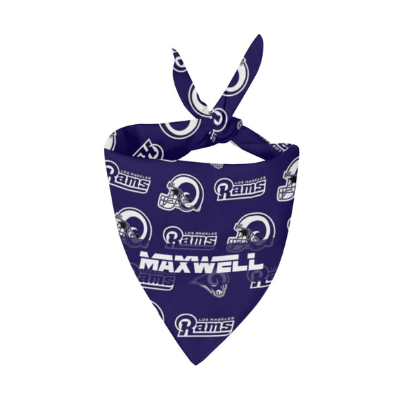 Los Angeles Rams Premium Bandana Pet