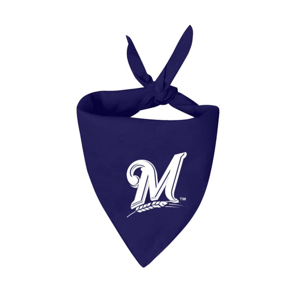 Milwaukee Brewers Handmade Bandana Mlb