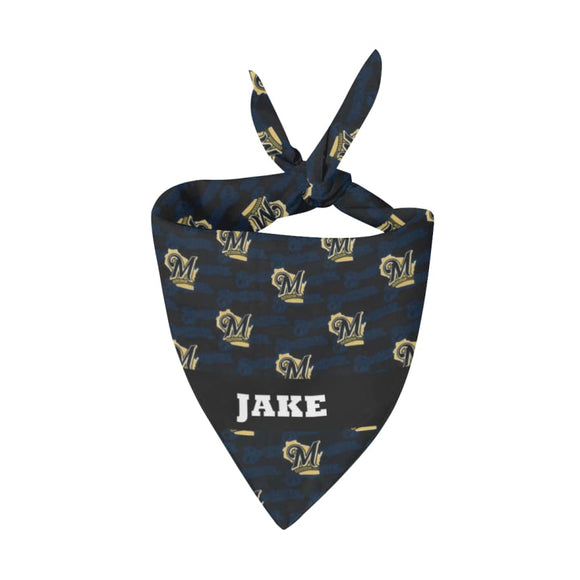 Milwaukee Brewers Premium Bandana Pet