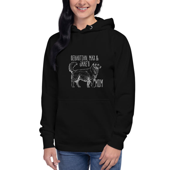 Hand-sketched Golden Mom - Personalized Hoodie