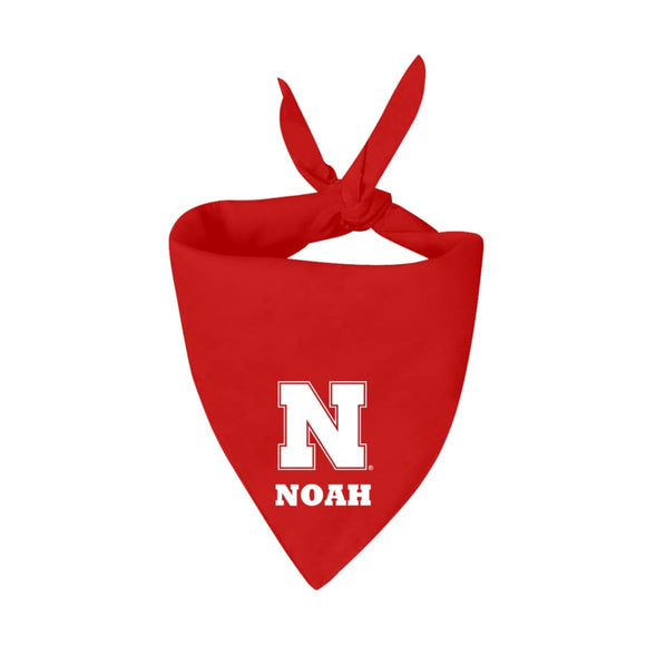 Ne Cornhuskers Handmade Bandana Add Name Ncaa