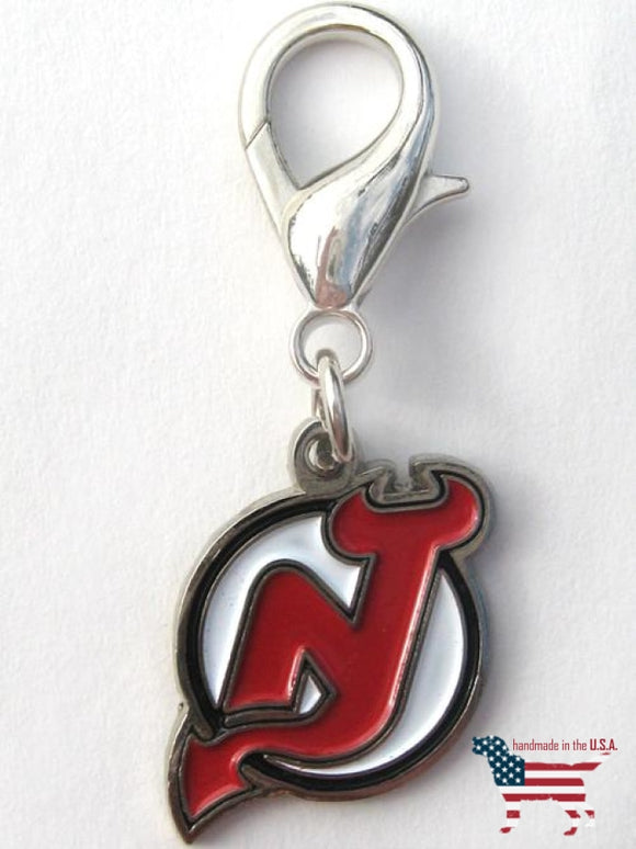 New Jersey Devils Collar Charm Nhl