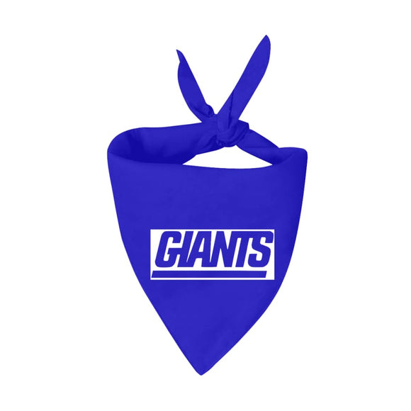 New York Giants Handmade Bandana Nfl