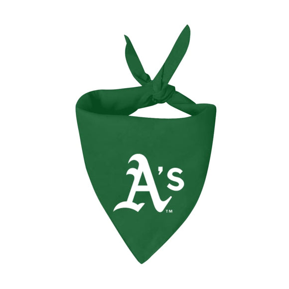 Oakland Athletics (As) Handmade Bandana Mlb