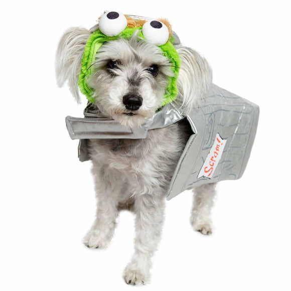 Oscar The Grouch Licensed Pet Costume Costumes